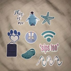 Other - Blue VSCO Stickers💙✈️🌊
